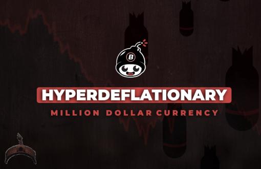 A deflationary currency