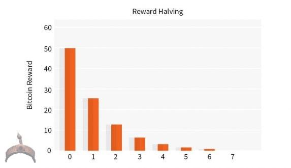 Block rewards halving