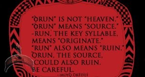 orun is not heaven