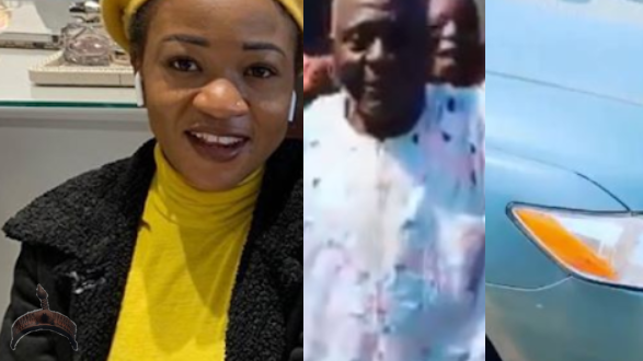 Super Falcons Player, Francisca Ordega surprises Her Dad with a car