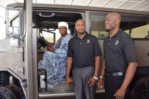Armored-Vehicle🚗Named Tekowi Manufactured Two Obasa Brothers Unveiled Ijero Ekiti