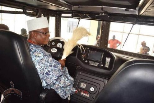 Armored-Vehicle🚗Named Tekowi Manufactured Two Obasa Brothers Unveiled Ijero Ekiti