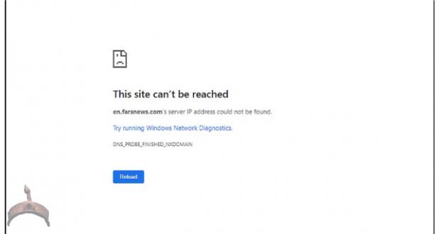 Iran-Fars News Knocked Off Web