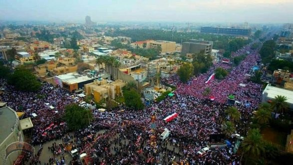 SITREP-Iraq's million-man march against US occupation, and Pentagon admits to 34 injuries from Iran strike