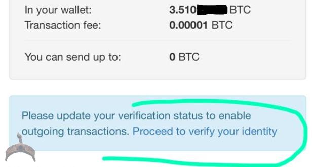 one of localbitcoins blocked account