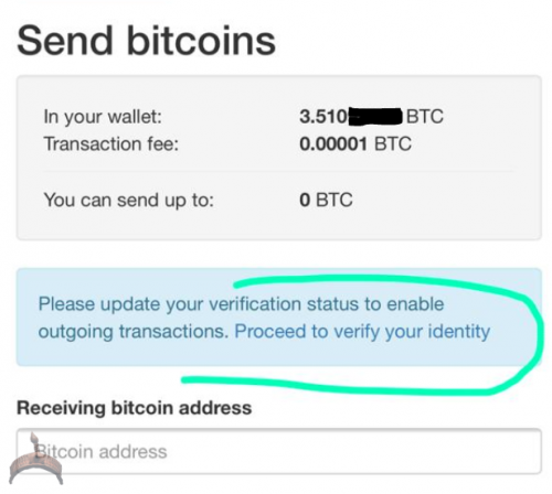 one of localbitcoins blocked account