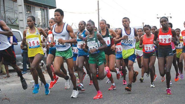 Marathon race lagos