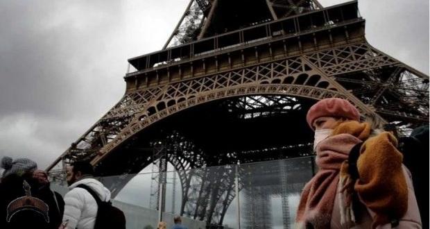 mask warning french people