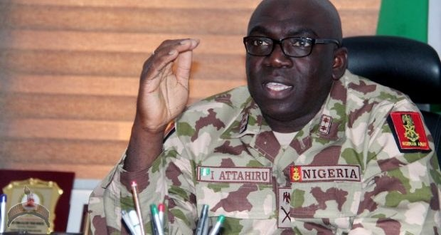 Nigeria's chief of army