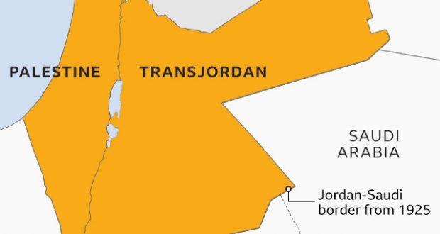 british mandate palestine map